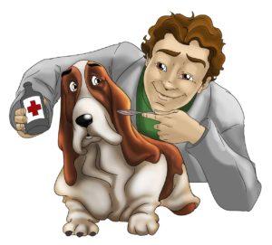 hund-hos-veterinär